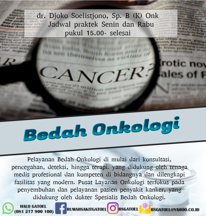 LAYANAN bedah onkologi - Made with PosterMyWall